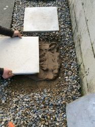 How To Lay Stepping Stones On Gravel Guide Laying Paving